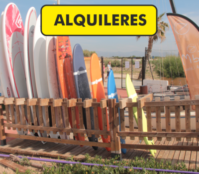 Alquiler Material Surf Valencia