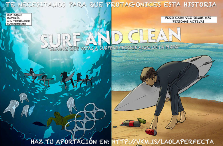 Surf and Clean, la ola perfecta