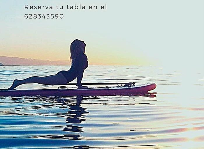 Sup Yoga en Xsa Surf