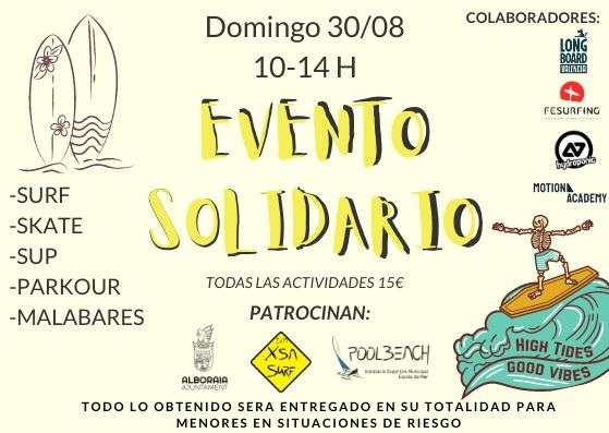 Evento Solidario en Xsa Surf